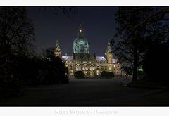 """Hannoversche Impressionen """" Neues Rathaus der Landeshauptstadt Hannover """""""