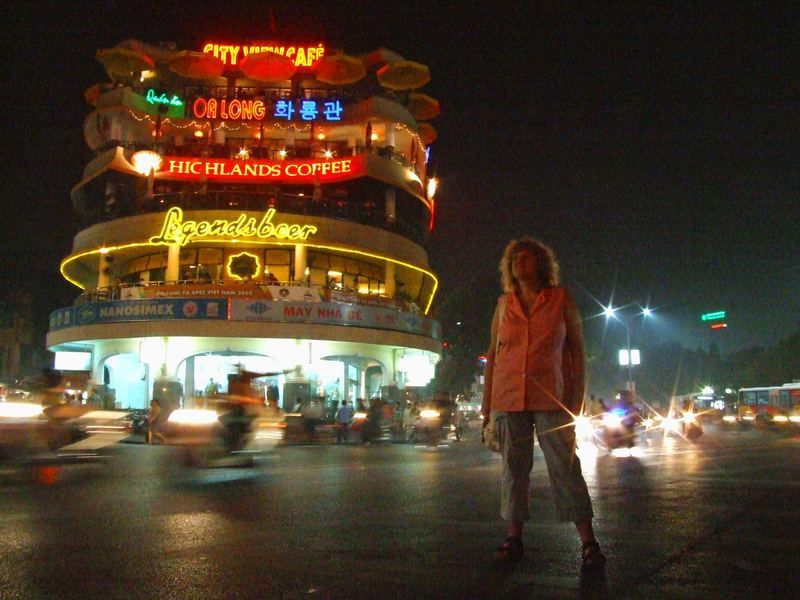 Hanoi am Abend