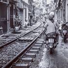Hanoi's Bahngleisen