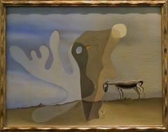 Hans Arp und Salvador Dali gemeinsam unterwegs ...