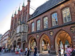 Hanse-Architektur in Lübeck