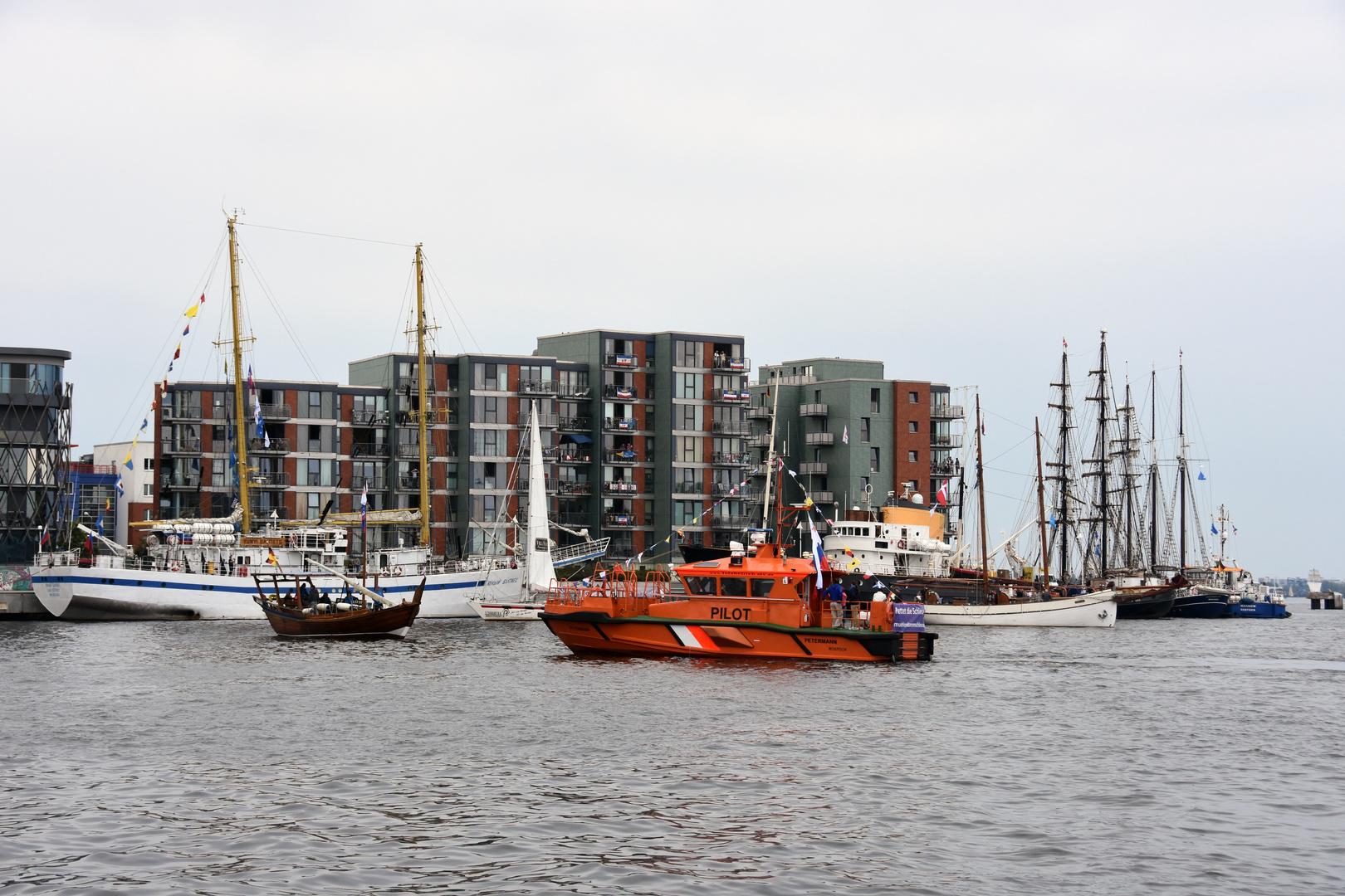 Hanse Sail 2018 in Rostock