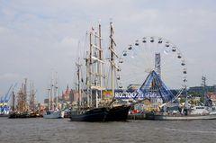 Hanse Sail im Rostocker Stadthafen