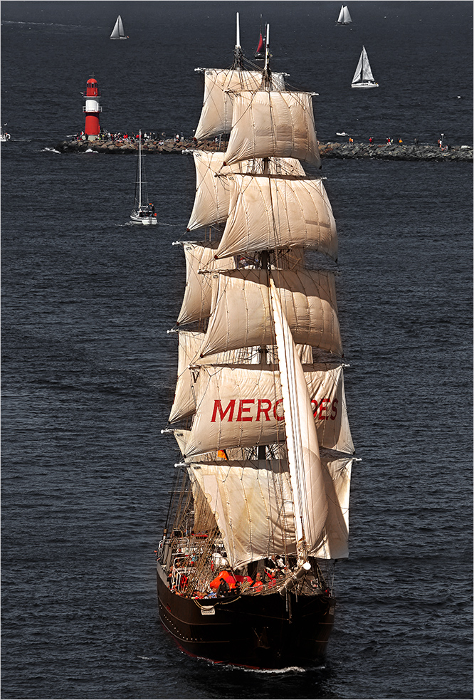 Hanse Sail - Mercedes