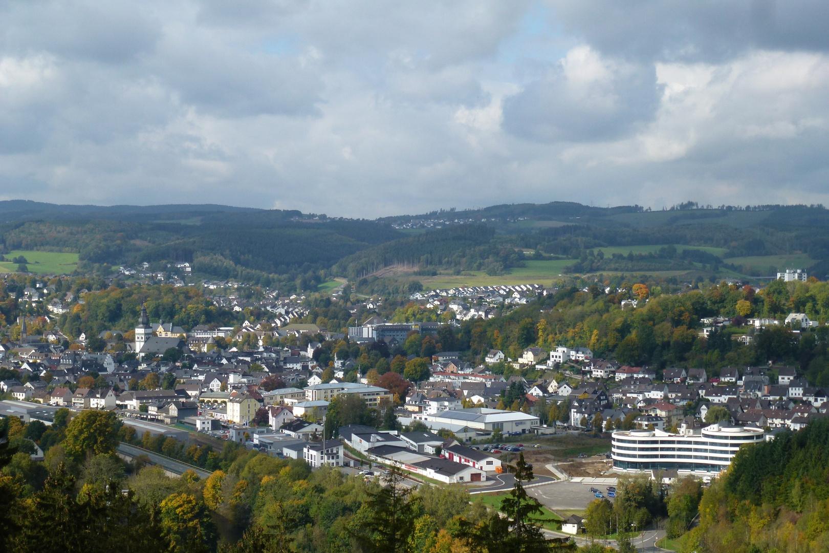 Hansestadt Attendorn im Sauerland /Panorama