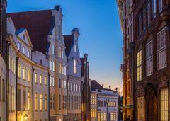 Hansestadt Lübeck: Baustile in der Grube