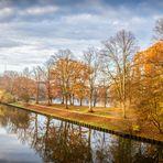 Hansestadt Lübeck: Herbst am Elbe-Lübeck-Kanal