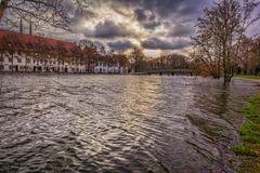 Hansestadt Lübeck: Hochwasser