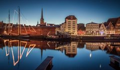 Hansestadt Lübeck: Morgendämmerung
