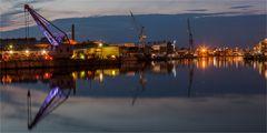 Hansestadt Lübeck: Stille im Hafen