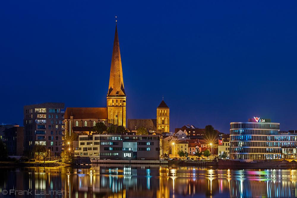 Hansestadt Rostock - Petrikirche und Nikolaikirche