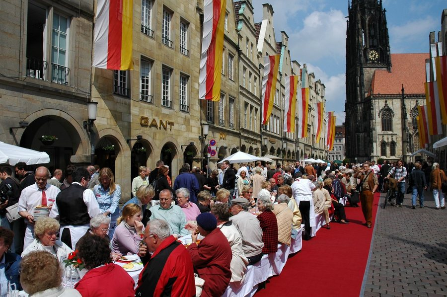 Hansetag in Münster