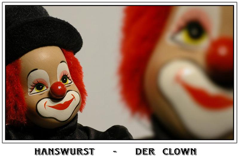 Hanswurst  -  der Clown