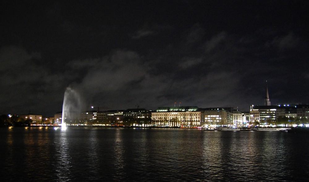 Hapag Lloyd in Hamburg mit Fontaine