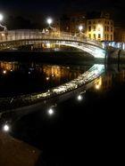 Ha'Penny Bridge in Dublin City