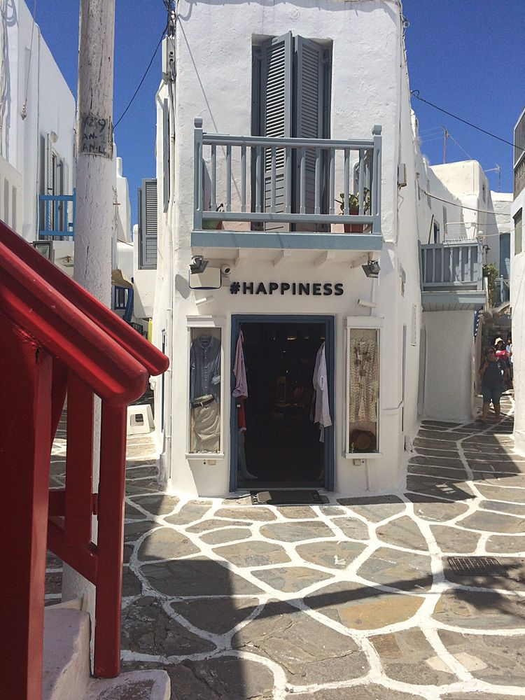 Happiness at Mykonos