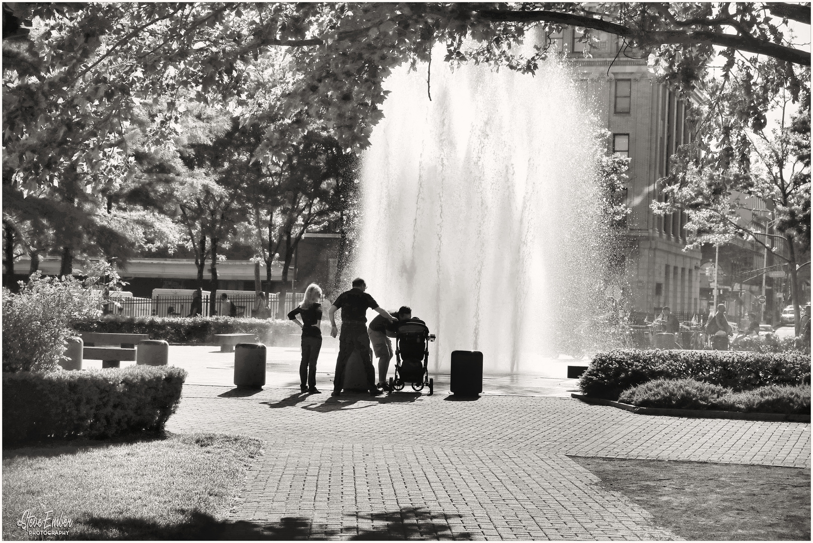 Happiness is a Fountain in Hoboken
