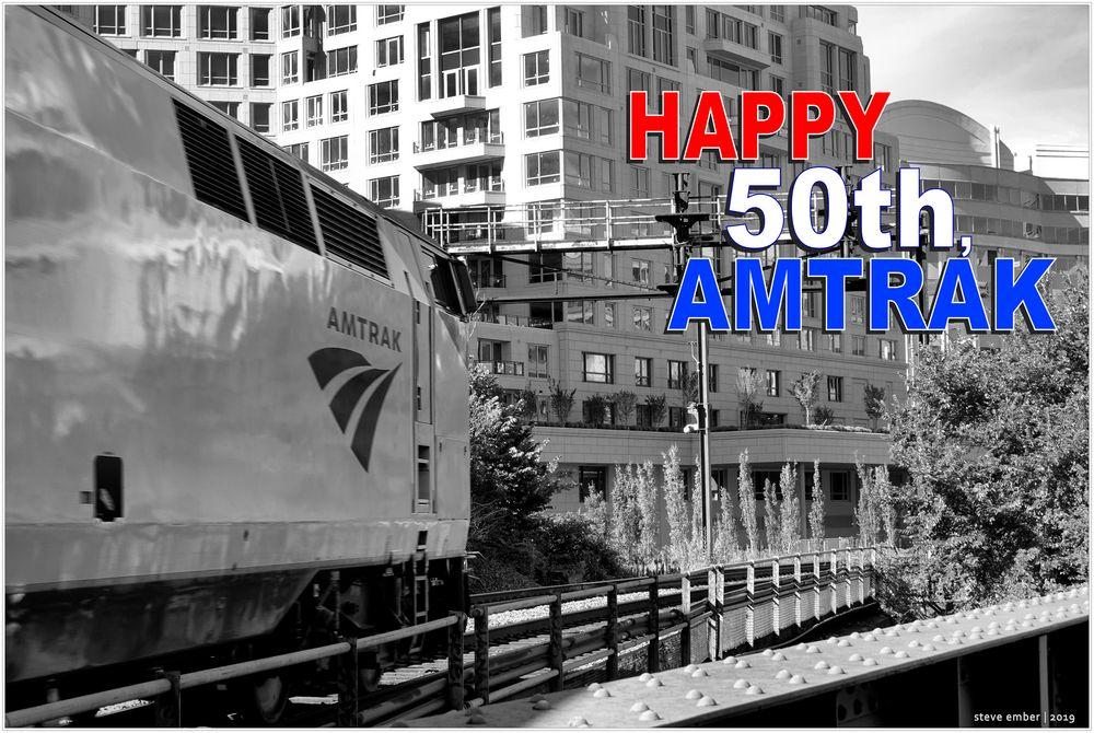 Happy 50th Anniversary, Amtrak!