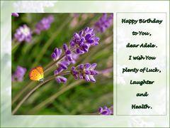 Happy Birthday,  Adele!