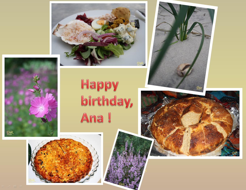 Happy Birthday Ana !!!