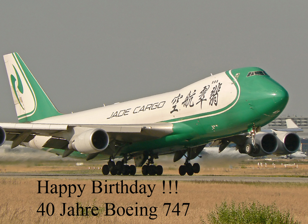 Happy Birthday Boeing 747 !!