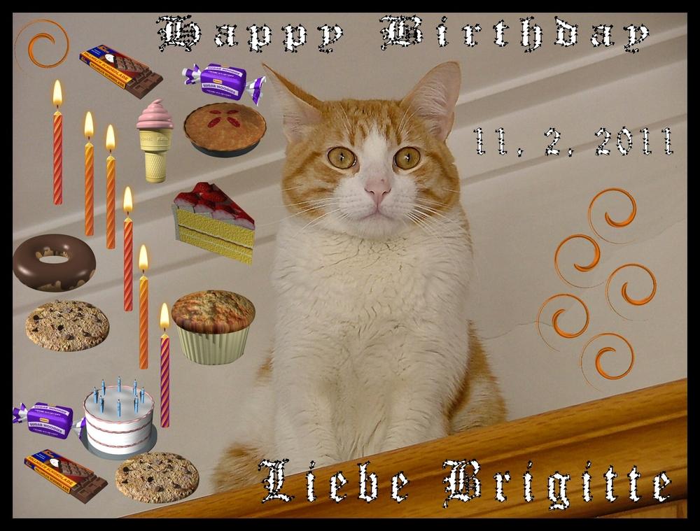 Happy Birthday Brigitte Richter,