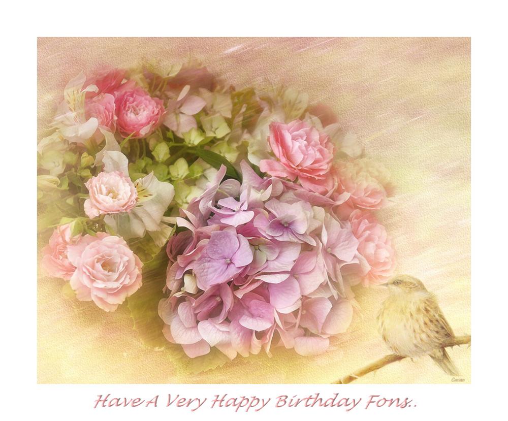 Happy Birthday Fons....