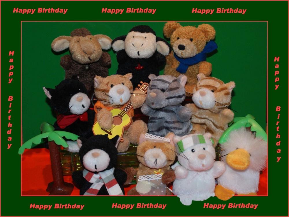 Happy Birthday für Petra !!