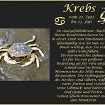 Happy Birthday Sternbild Krebs