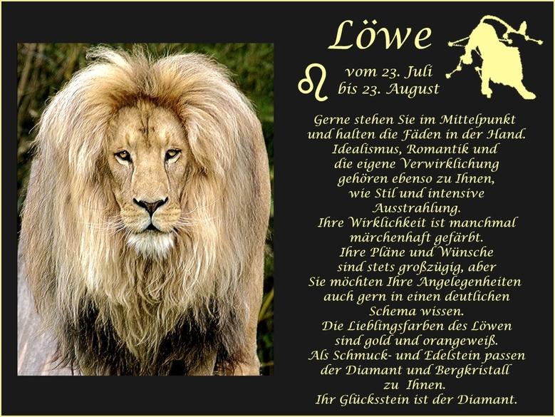 Happy Birthday Sternbild Löwe