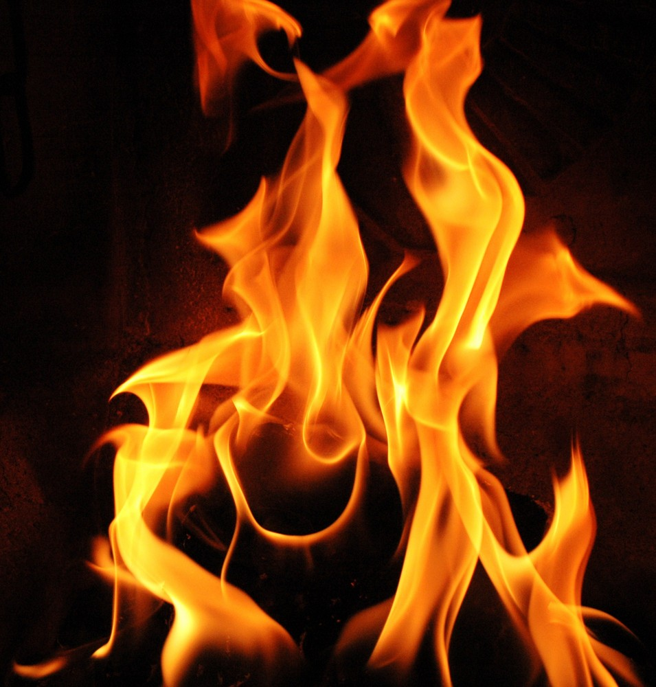 Happy fire