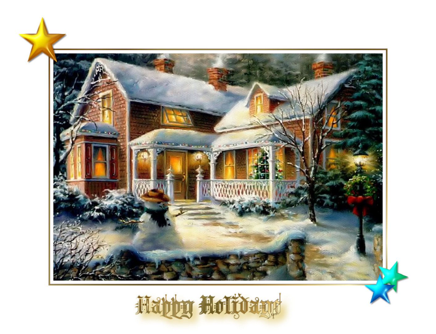Happy Holidays to All Friends on Fotocommunity