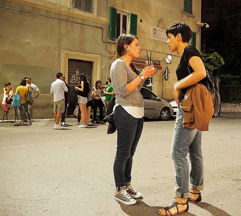 Happy hour in Perugia