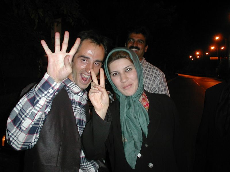 Happy in Teheran