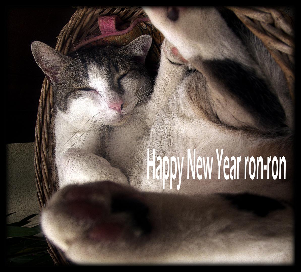 Happy New Year ron-ron