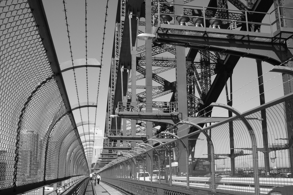 Harbor Bridge II (On the Bridge)