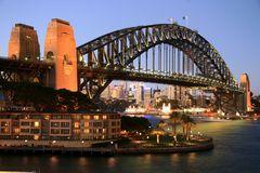 Harbour Bridge im Abendlicht