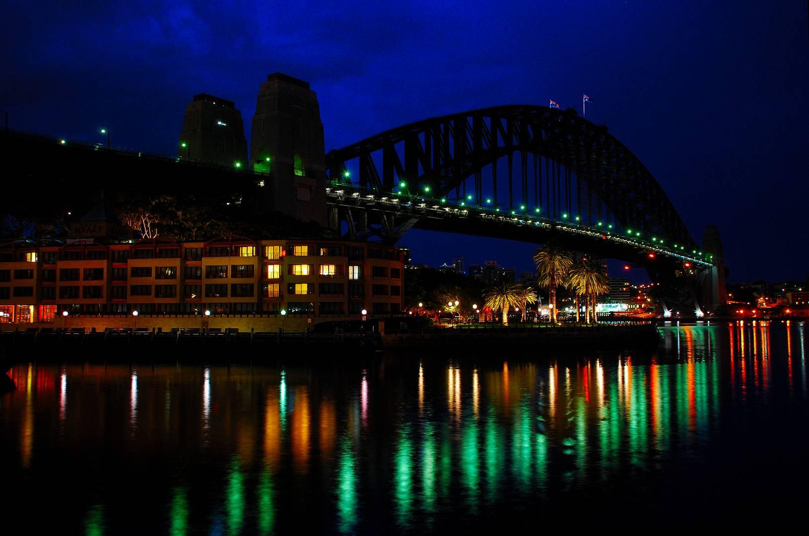 Harbour Bridge im Morgengrauen