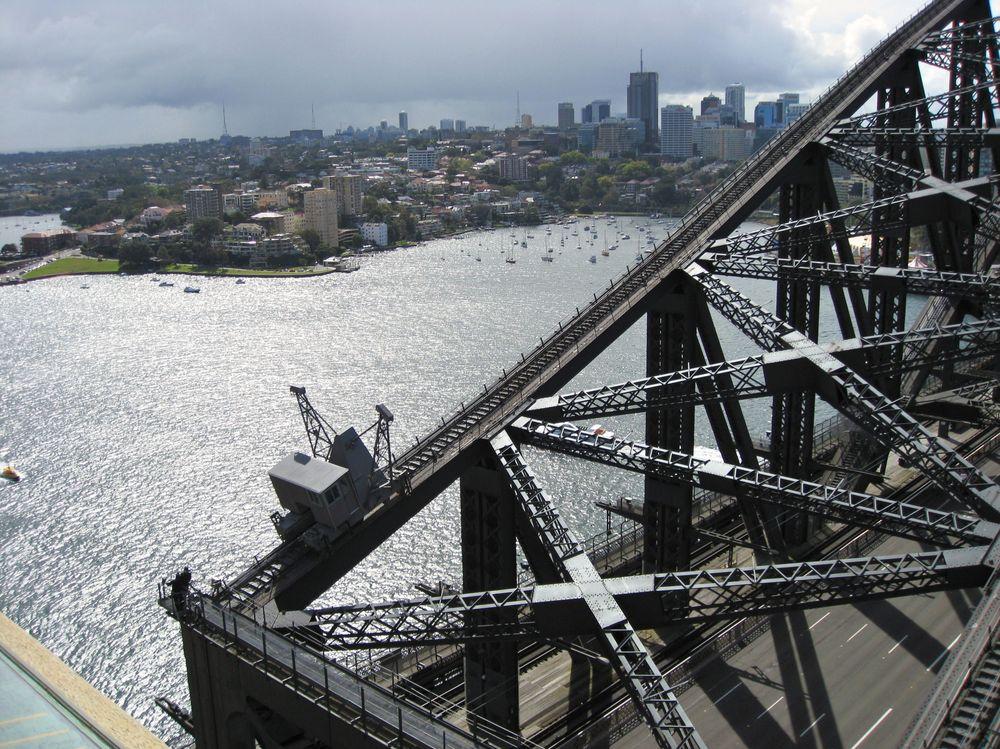 Harbour bridge mal anders