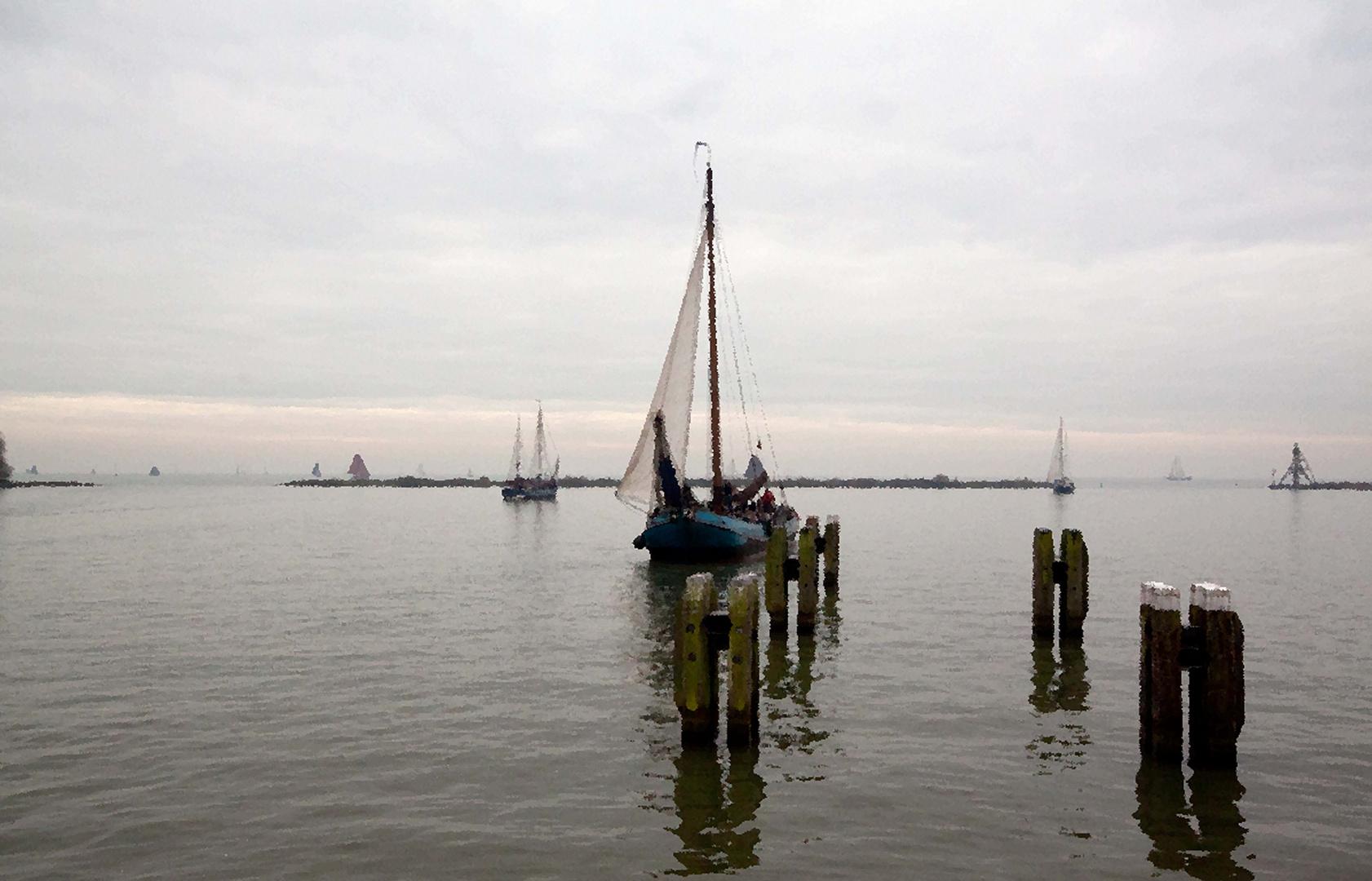 Harbour of Hoorn 1920