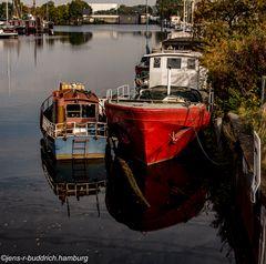 Harburger Binnenhafen-Idylle
