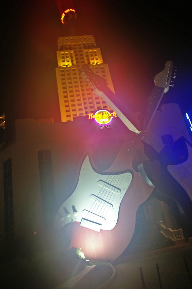 hard rock cafe dubai...