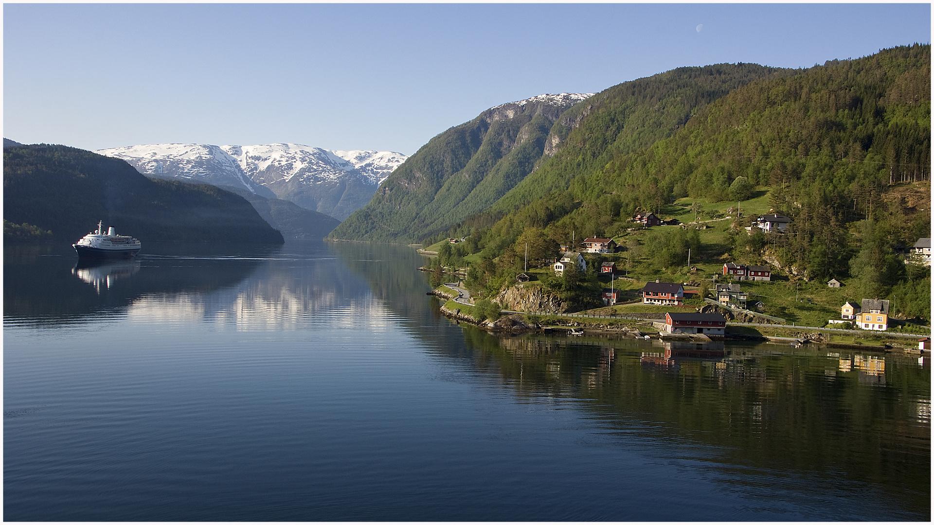 Hardanger Fjord bei Ulvik