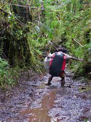 Hardcore Trekking im Korowai Wald