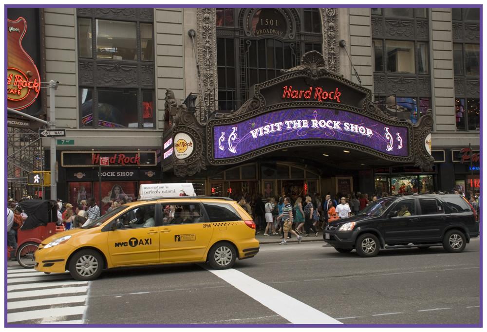 Hardrock shop in New York
