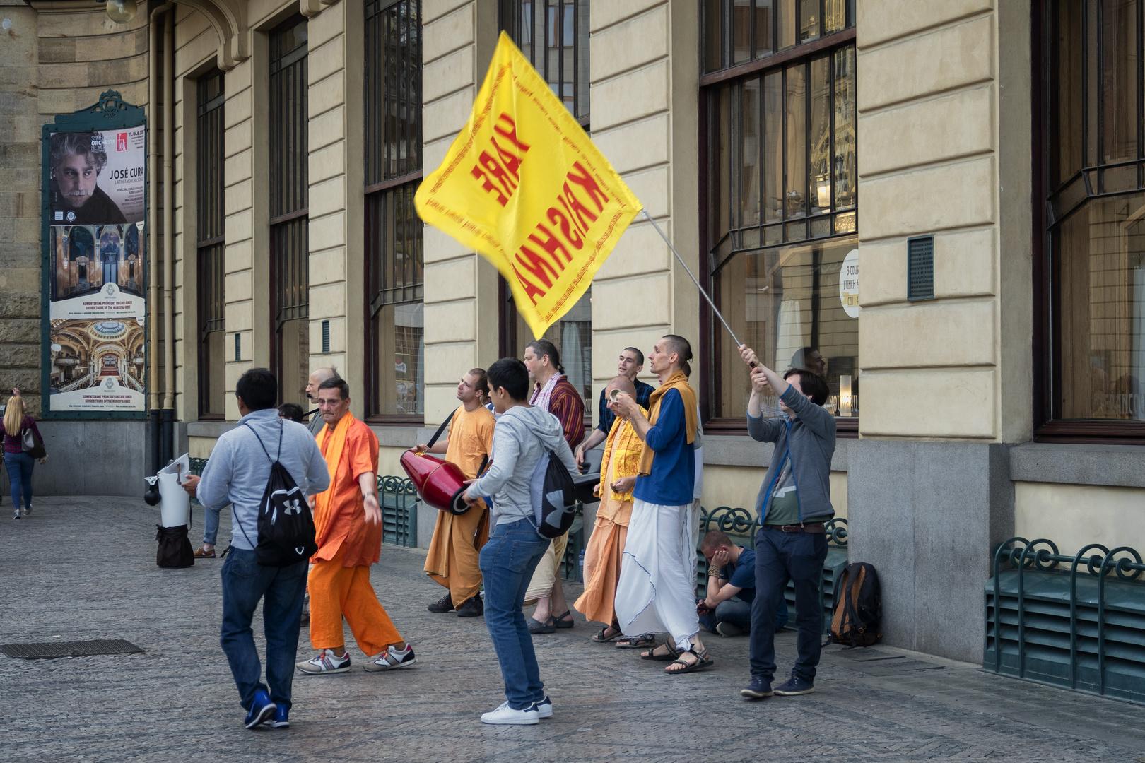 Hare Krishna a Praga