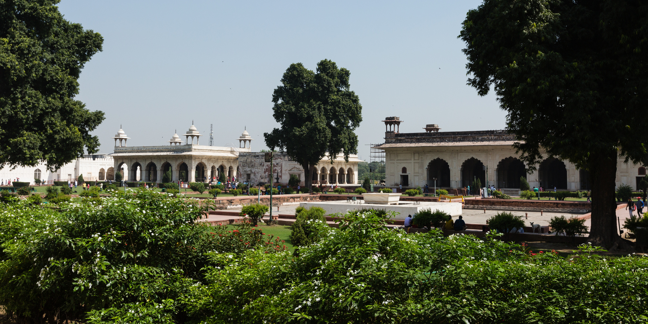 Harem, Palast des Shahs und private Audienzhalle...