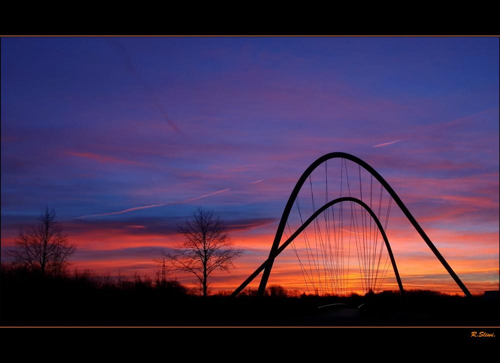 Harfe am Kanal ( Harp )