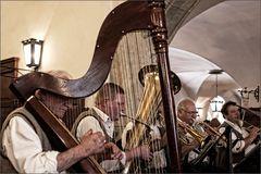 Harfe im Hofbräuhaus
