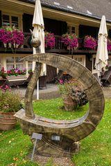 Harfe im Original
